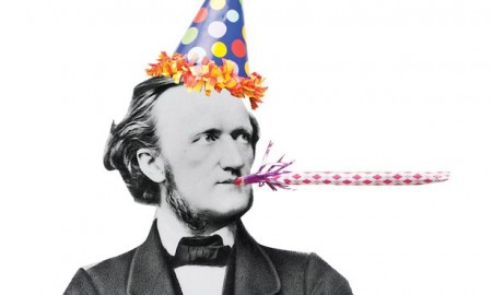 A photo of Wagner in a birthday hat from The Atlantic, but it expresses my mood, OK?