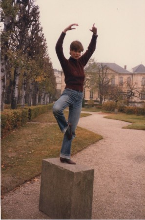 Ballet Pose @ the Rodin Museum, Paris