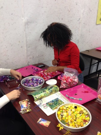 Embellishing Class with Frances Holiday Alford