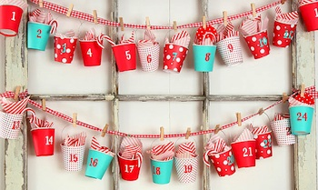 35 DIY Advent Ideas at the Crafty Crow