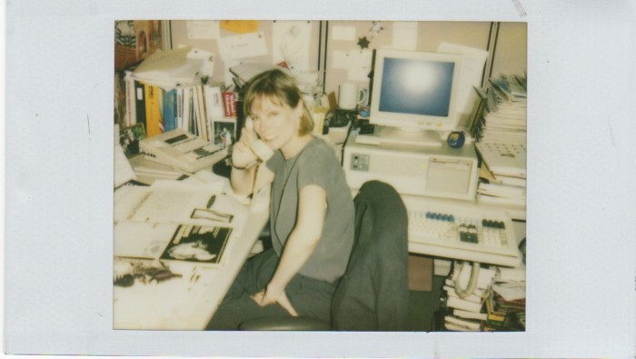 "Always did have a ""busy"" desk with piles around me!"