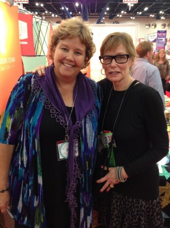 Me & Jenny Doan, from Missouri Star Quilt Co.